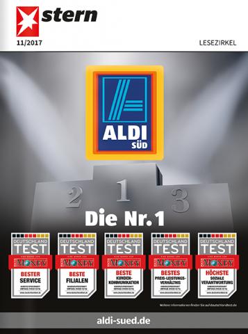 Top-Cover ALDI SÜD Nr. 1