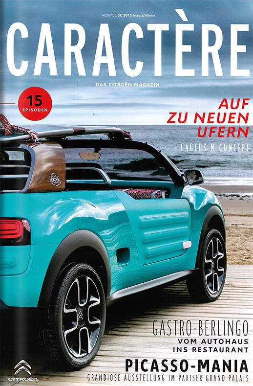 Kundenmagazin Citroën