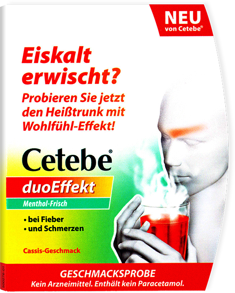 Geschmacksprobe Cetebe duoEffekt