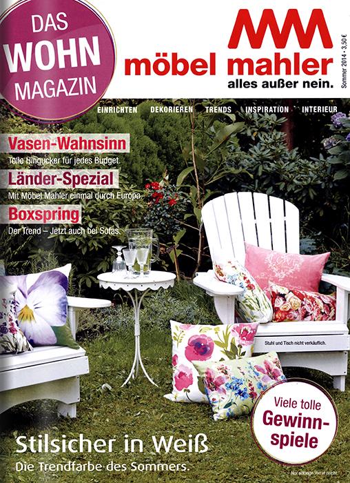 Wohnmagazin Möbel Mahler