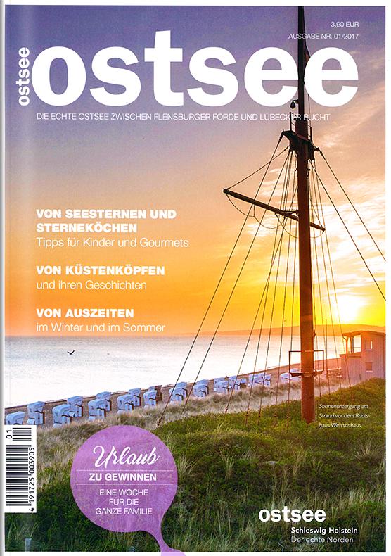 Sonderheft ostsee, Magazin des Ostsee Schleswig-Holstein Tourismus