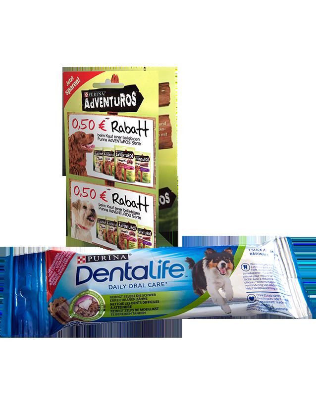 Purina Dentalife Proben verteilt an Abonnenten des Lesezirkels