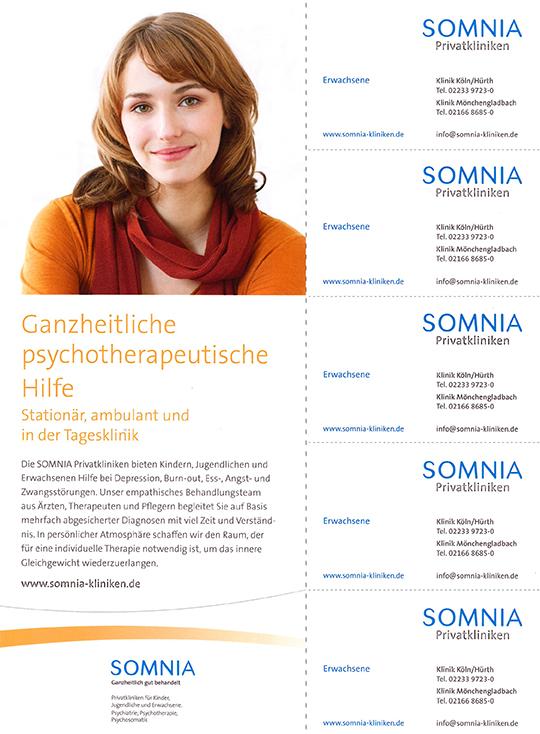 Somnia Kliniken Beihefter