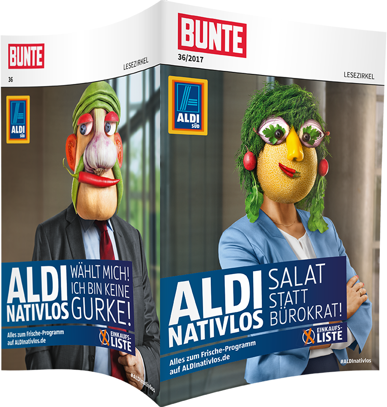 Top-Cover ALDI SÜD, ALDINATIVLOS
