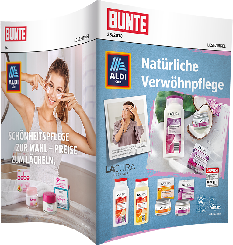 Top-Cover ALDI SÜD, Motiv