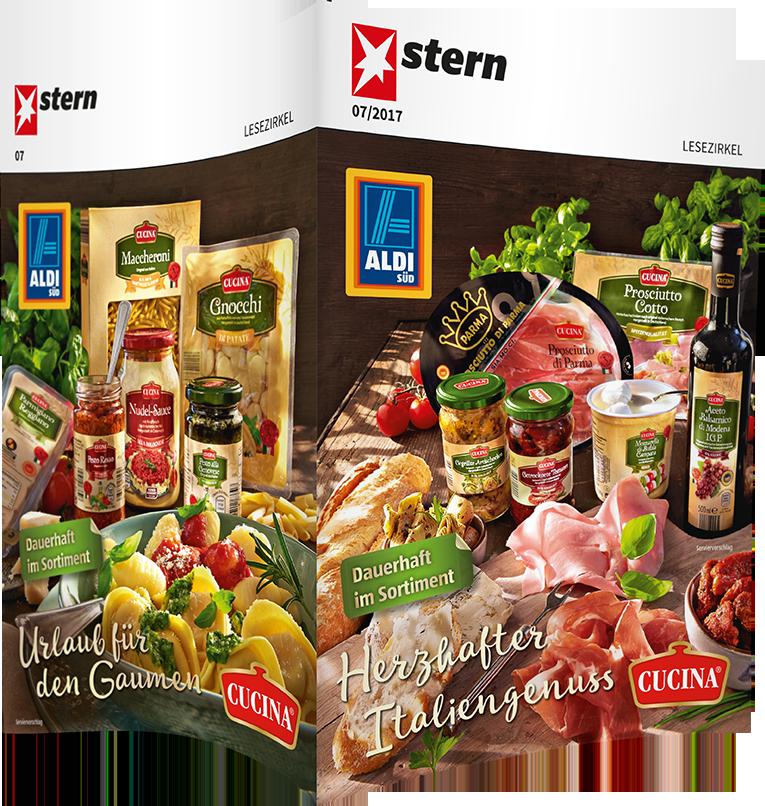 Top-Cover ALDI SÜD, Motiv Cucina