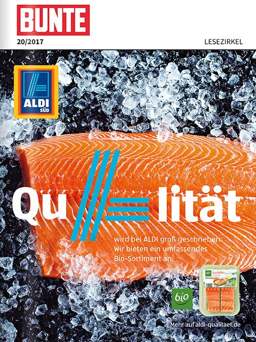 Top-Cover ALDI SÜD Qualität bei Fisch und Wein