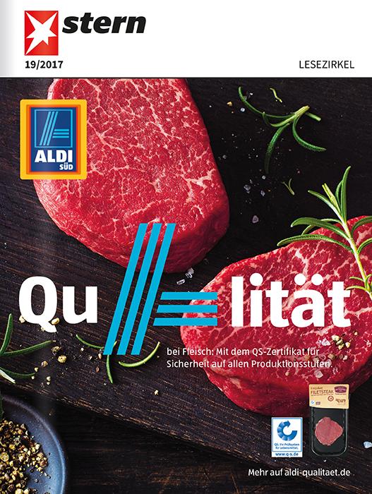 Top-Cover ALDI SÜD Qualität bei Fleisch