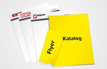 Ihr Katalog oder Flyer als Zusatzobjekt in der Lesemappe.