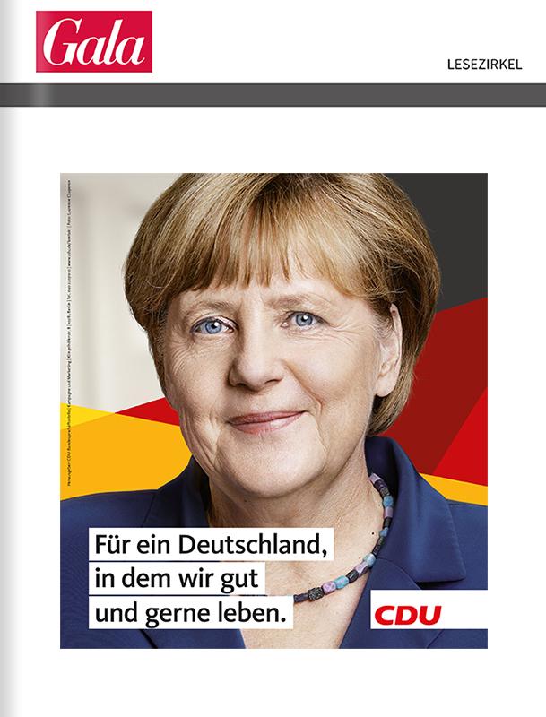 CDU - Titelanzeige zur Bundestagswahl 2017