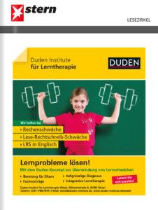 Titelanzeige DUDEN Institut Wesel