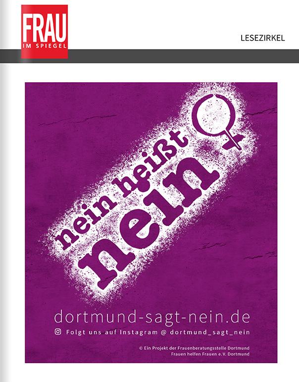 Titelanzeige Frauenberatungsstelle Dortmund