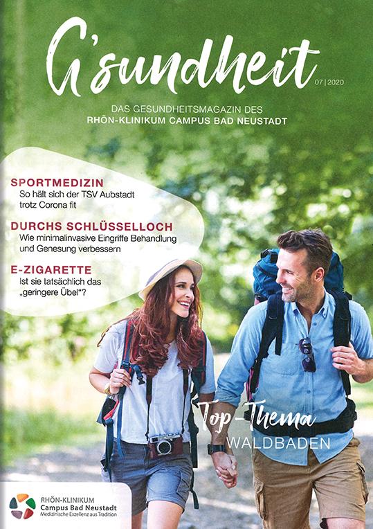 Beilage Magazin G´sundheit 07-2020