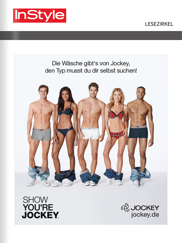 Titelanzeige Jockey Wäsche