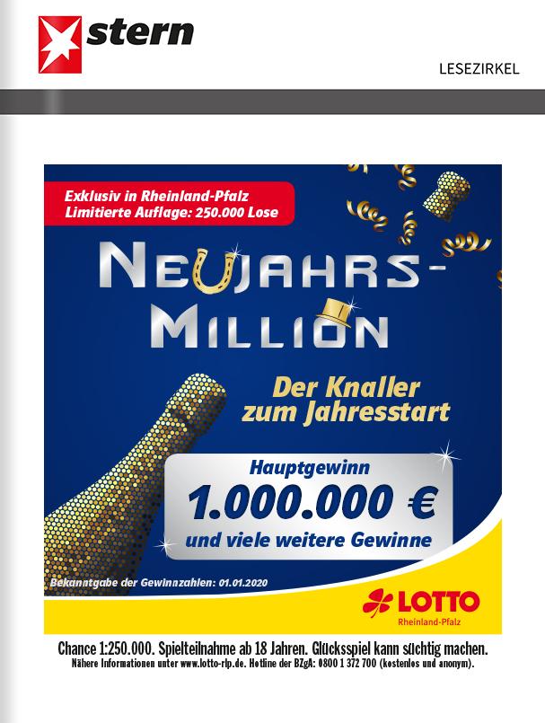 Titelanzeige Lotto Rheinland-Pfalz