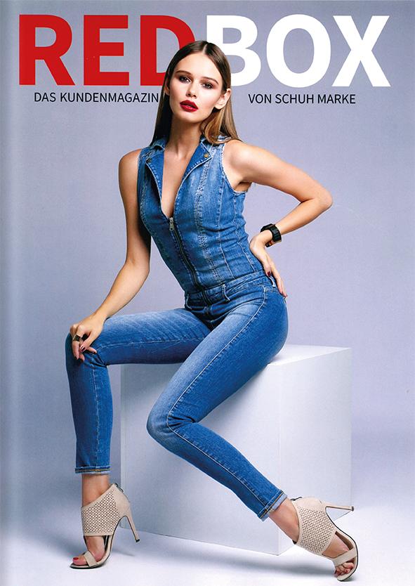 REDBOX Kundenmagazin von Schuh Marke