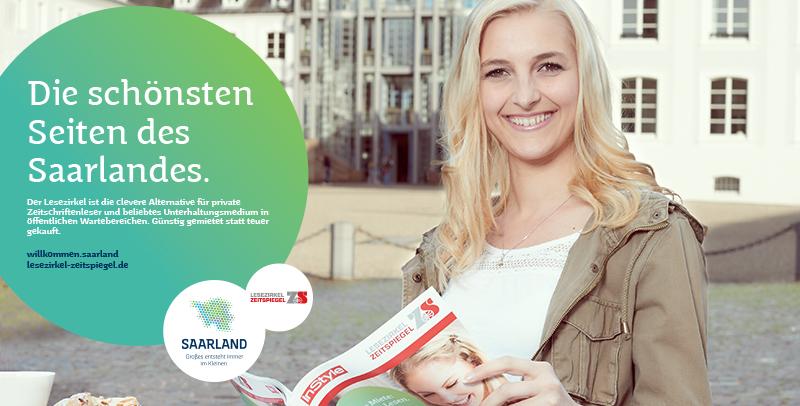"""Saarland Marketing, Motiv """"Die schönsten Seiten des Saarlandes."""""""