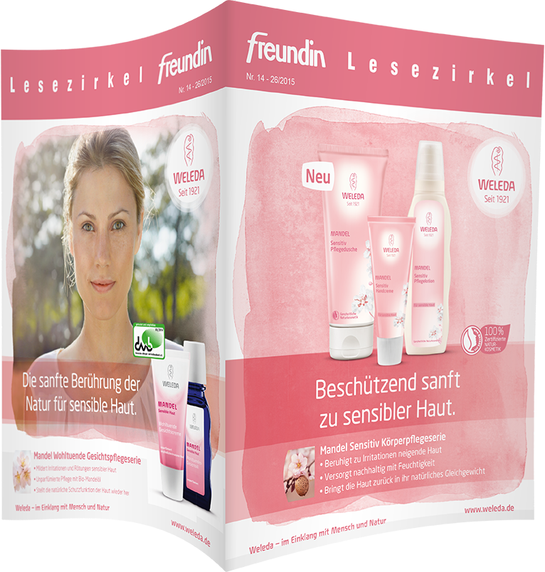 Top-Cover WELEDA Mandel Sensitiv