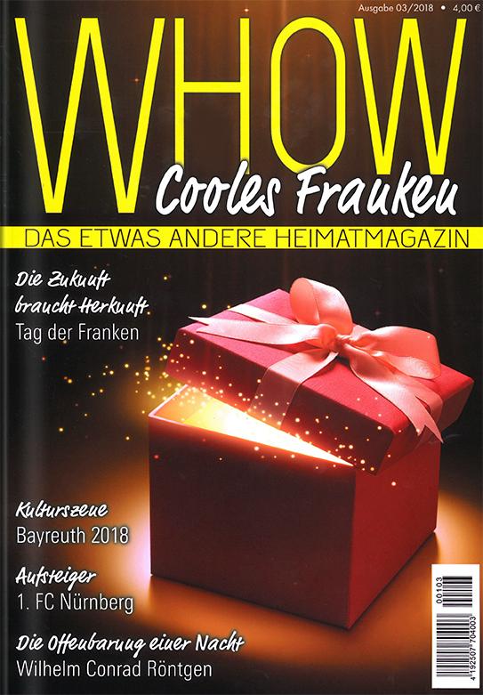 Heimatmagazin WHOW Cooles Franken