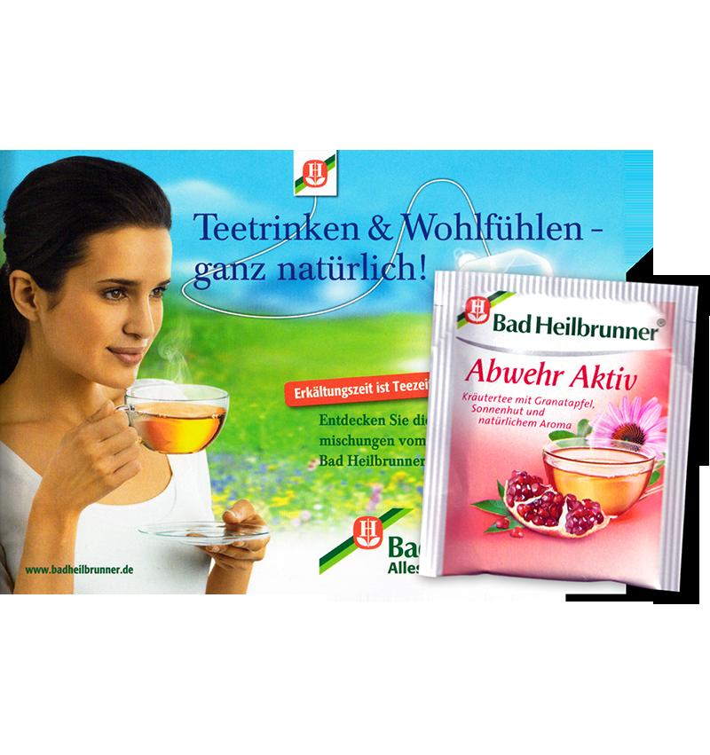 Warenprobe Bad Heilbrunner Tee