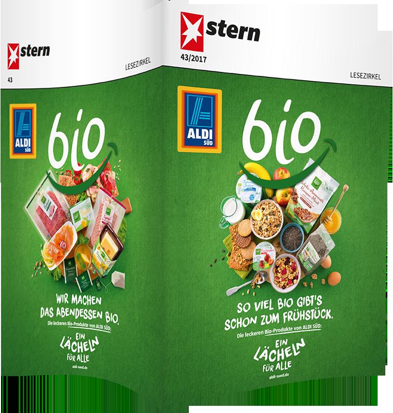 Top-Cover ALDI SÜD, bio