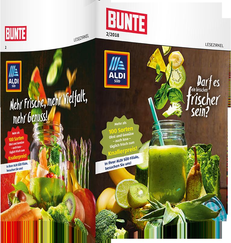 Top-Cover ALDI SÜD, Motiv Smoothie
