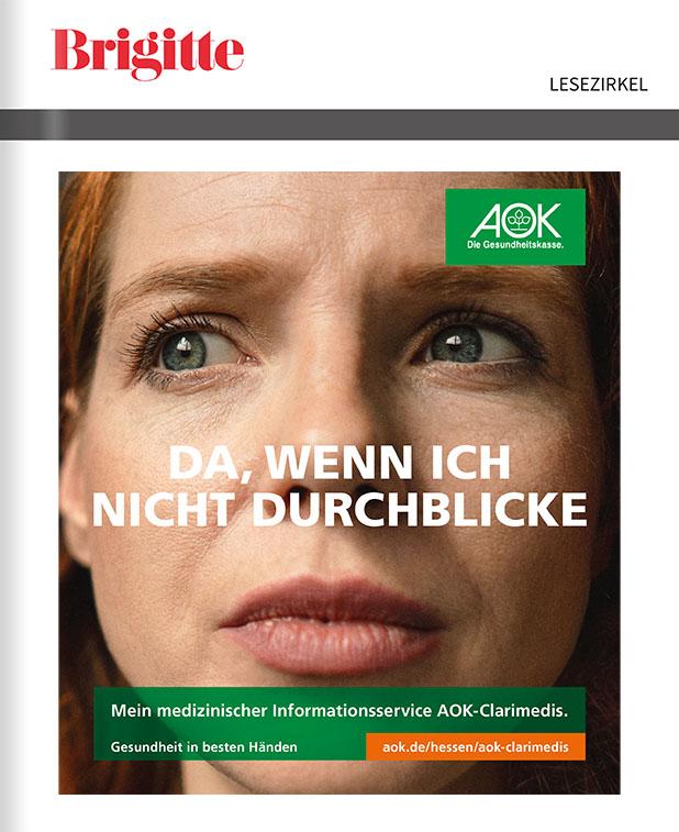 Titelanzeige AOK Hessen