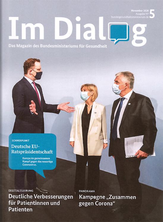 """Beilage """"Im Dialog"""" des Bundesministeriums für Gesundheit"""