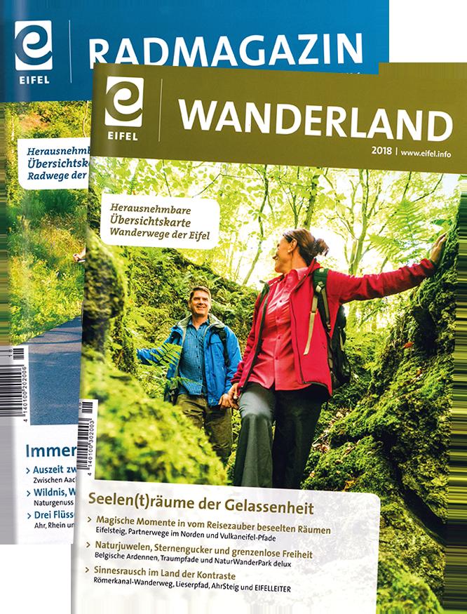 Tourismusmagazine der Eifel