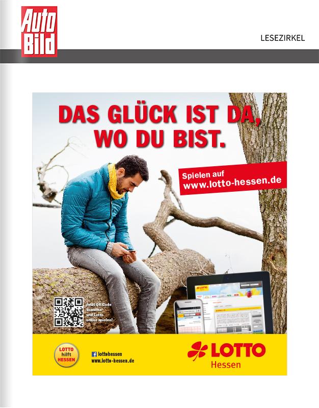 Titelanzeige Lotto Hessen