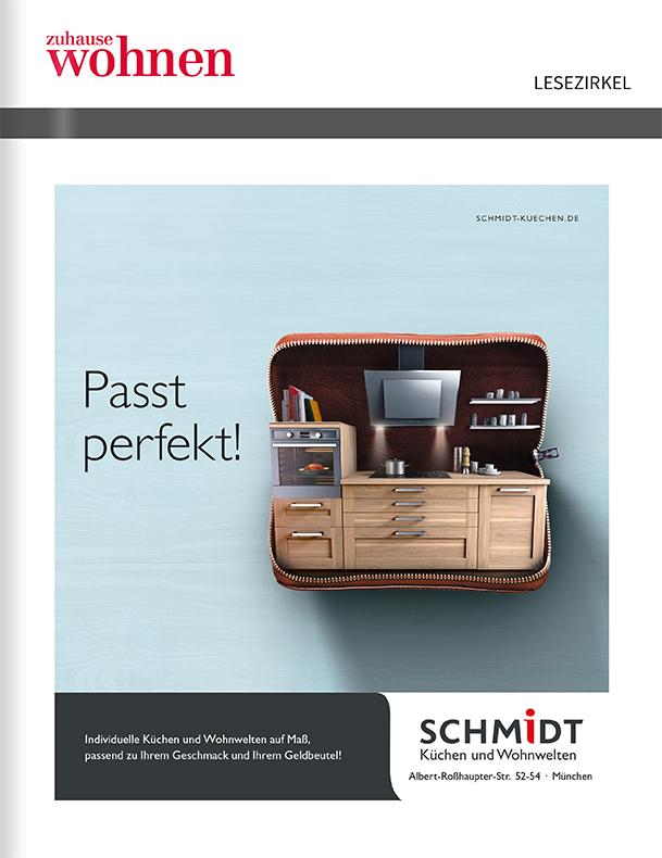 Titelanzeige Schmidt Küchen und Wohnwelten