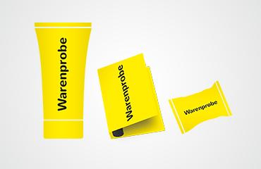 Produktproben können an die Abonnenten des Lesezirkels verteilt werden.