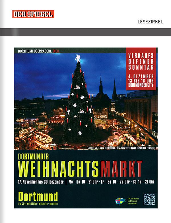 Titelanzeige Dortmunder Weihnachtsmarkt