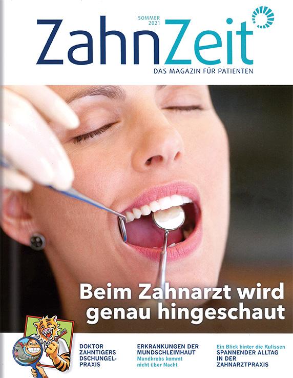 Beilage ZahnZeit Sommer 2021